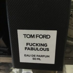 Tom Ford F——g Fabulous